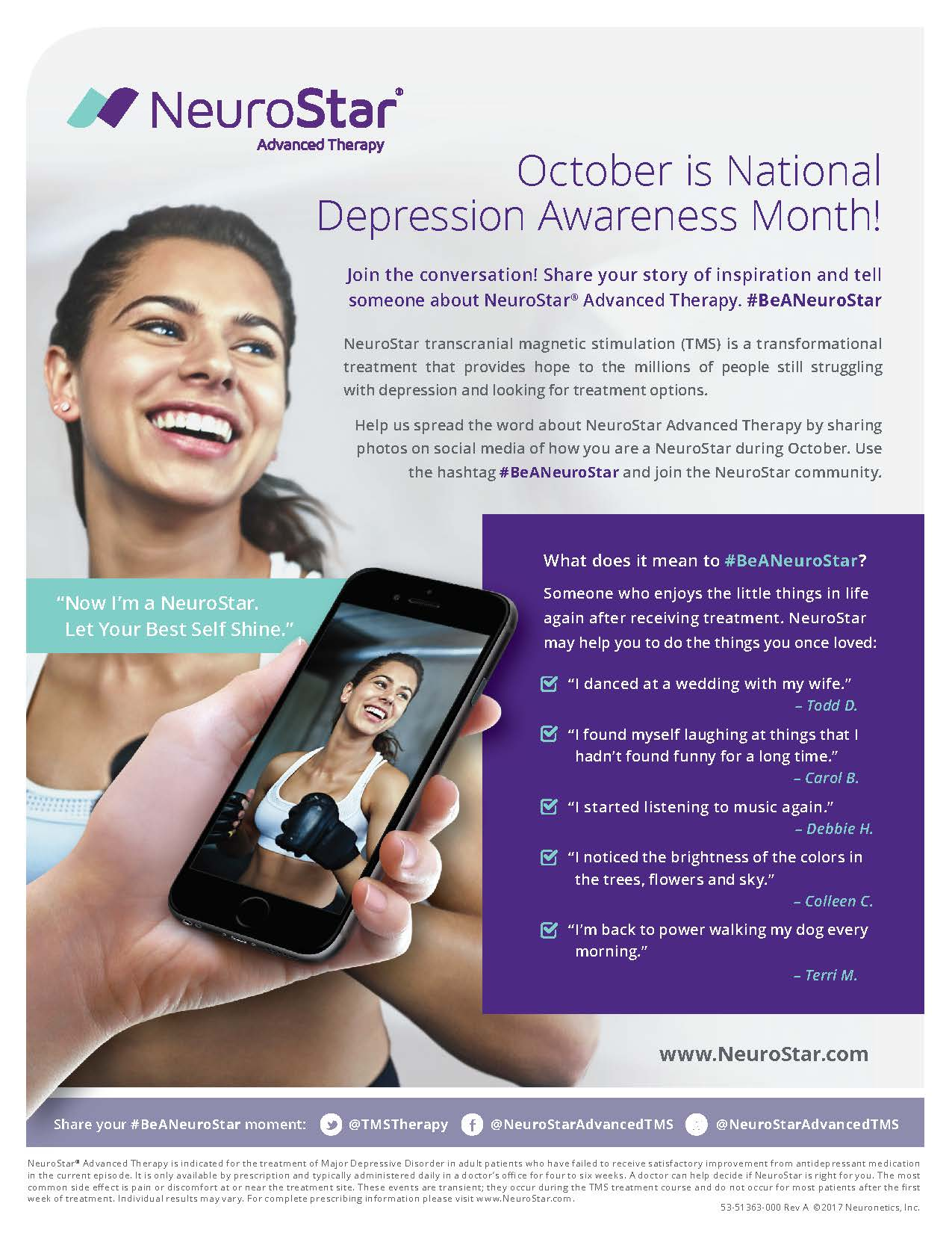 53 51363 000 Depression Month Flyer